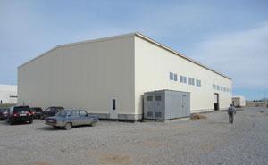 Промышленное строительство - кикерино, ангары, склады, металлоконструции, строительство, фундаментные работы